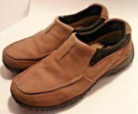 NUNN BUSH All Terrain Men's 9M Leather Slip On Comfort Shoes 84227-276 outdoor