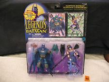 "Legends Of Batman EGYPTIAN BATMAN CATWOMAN 5"" Action Figure Set NEW 1995"