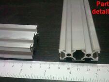"Aluminum T-slot 2040 extruded profile 20x40-6 Length 1000mm (<40""), 2 pieces set"