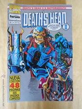 DEATH'S HEAD II & MOTORMOUTH - NUMEROS 1 A 10 (FALTA EL 8) - MARVEL - FORUM (A)