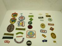 Boy Scout Patches Lot of 35 Various Patches  BSA  BL46-8