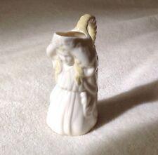 Irish belleek porcelaine Undine Pitcher fille Creamer water nymphe carafe Maiden Gold