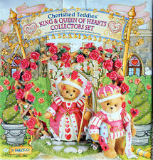 """Cherished Teddy """"king & Queen Of Hearts"""""""