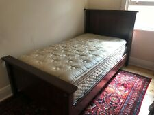 WILLOW CREEK RECYCLED SOLID JARRAH KING SINGLE BED (BED ONLY)