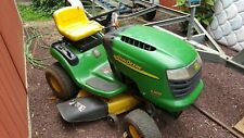 2002 John Deere L100 Garden Tractor 42 inch mower deck - engine blown