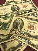 1953 $2 United States Note - Red Seal (1) Note Item