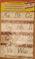 Trend Enterprise, Inc Stained Glass Alphabet Line Bulletin Board Set-Manuscript