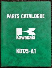 KAWASAKI RANGE 1976 MOTORCYCLE ILLUSTRATED PARTS LIST & SUPPLEMENT