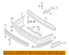 BMW OEM 95-01 750iL Rear Bumper-Bumper Cover Screw 07119916966