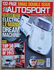 Autosport magazine 19/26th December 2013