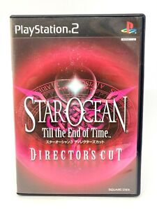 Sony PLAYSTATION 2 PS2 - Star Ocean: till the End Of Time - Director's Cut Japan