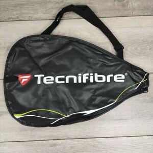 Tecnifibre Squash Racket Head Cover Case Black R733-1