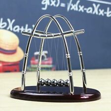 Newtons Cradle Steel Balance Ball Desk Fun Decoration Physics Science Toy Gift