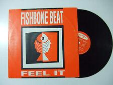 "Fishbone Beat – Feel It - Disco Mix 12"" Vinile ITALIA 1993 Progressive House"