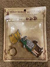 1973 Holly Hobbie Keychain Girl Vintage American Greetings New in Box
