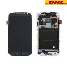 Neu Für Samsung Galaxy S4 i9505 LCD Display Touchscreen Glas Rahmen Schwarz
