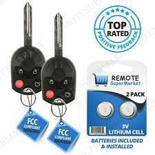 2 for Ford Edge 2007 2008 2009 2010 2011 2012 2013 keyless entry remote key fob