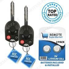 2 For Ford Edge 2007 2008 2009 2010 2011 2012 2013 Keyless Entry Remote Key Fob