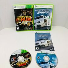 Need For Speed The Run Need For Speed Shift Microsoft Xbox 360 Games Lot Of 2