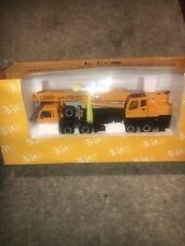 1.50 Chang Jiang Sichuan Liebherr Lt1050 Mint New Boxed Rare Mobile Crane