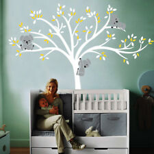 Removable Mural Koala Tree Non-Toxic DIY Room Nursery Wall Sticker Kid's Decals