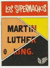 LOS SUPERMACHOS #126 MEXICAN COMIC MAY 1968 DEATH OF MARTIN LUTHER KING