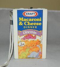 1992 Working Kraft Macaroni & Cheese Dinomac Transistor Radio Nice Condition