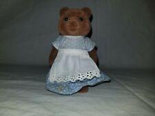 Sylvanian Families Rose Daisy Bud Timbertop Brown Bear Family