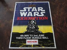 STAR WARS vintage Australian 1983 Empire Strikes Back ROTJ carry bag Rundle Mall