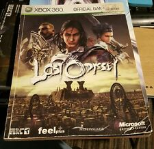 LOST ODYSSEY RPG OFFICIAL STRATEGY GUIDE BOOK MICROSOFT XBOX 360 RARE