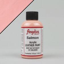 ANGELUS Acrilico Pelle Pittura Salmone 4oz (118ml) bottiglia resistente all'acqua