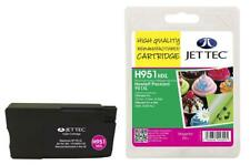 JetTec Magenta Ink Cartridge To Replace HP 951XL / CN047AE - 24ml Capacity