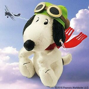 Steiff x SNOOPY Flying Ace Japan 1500 Limited 2017 Peanuts Plush Doll NEW