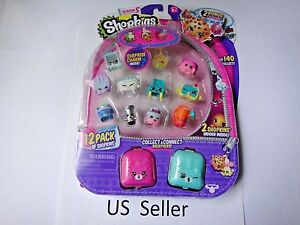 Shopkins SEASON 5 12 Pack Special Edition w/ 2 Charms brand new IN STOCK USA