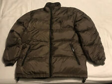 Adidas Down Fill Puffer Coat / Jacket Retro Padded Insulated Winter Size M 38/40
