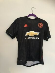 SMALL ADIDAS MANCHESTER UNITED 110 YEARS OF MANCHESTER ROSE 2019/20 3RD SHIRT..