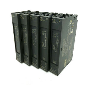 5x Siemens Simatic S7 6ES7 131-4BD01-0AA0 6ES7131-4BD01-0AA0 E-Stand: 03 -used-