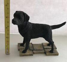 Sherratt & Simpson Black Lab Standing Labrador Dog Figurine #89066