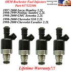 17122106 OM Rochester Fuel Injectors 4X for 1998-2000 GMC Sonoma 2.2L
