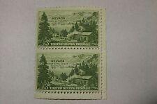$0.03 Cents Nevada First Settlement Centennial 1931-1951 Stamp Plate Block of 2