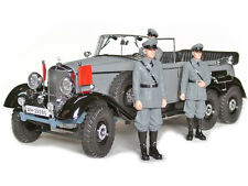 1938 MERCEDES G4 WITH 3 FIGURES GREY 1/18 BY SIGNATURE MODELS 38202