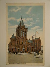 1929-POST OFFICE,BRIDGEPORT,CONN. (R.P.O. CANCEL) (CHECK OUT MY OTHER ITEMS)