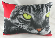 "CATS EYES Cushion Evans Lichfield Red CAT DP121 18"" X 13"""