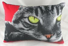 Ojos De Gato Cojín Evans Lichfield Rojo CAT DP121 45.7cm x 33cm