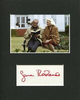 Gena Rowlands The Notebook Signed Autograph Photo Display W/ James Garner