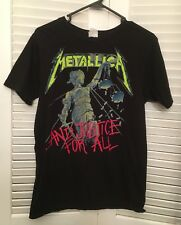 Metallica Justice For All T Shirt Sz M