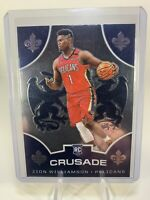 2019-20 Panini Chronicles Crusade Zion Williamson RC Rookie #529 PELICANS