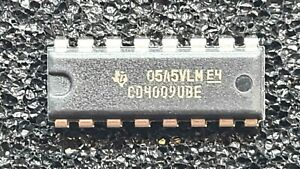 CMOS 4009 - MOS4009 (CD4009UBE / Texas Instruments) - Menge nach Wunsch