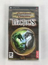 PSP Dungeons & Dragons Tactics, UK Pal, Brand New & Factory Sealed