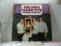 "THE DAVE CLARK FIVE-(LP)-SATISFIED WITH YOU - INCLUDING ""GOOD LOVIN'"" EPIC-1966"